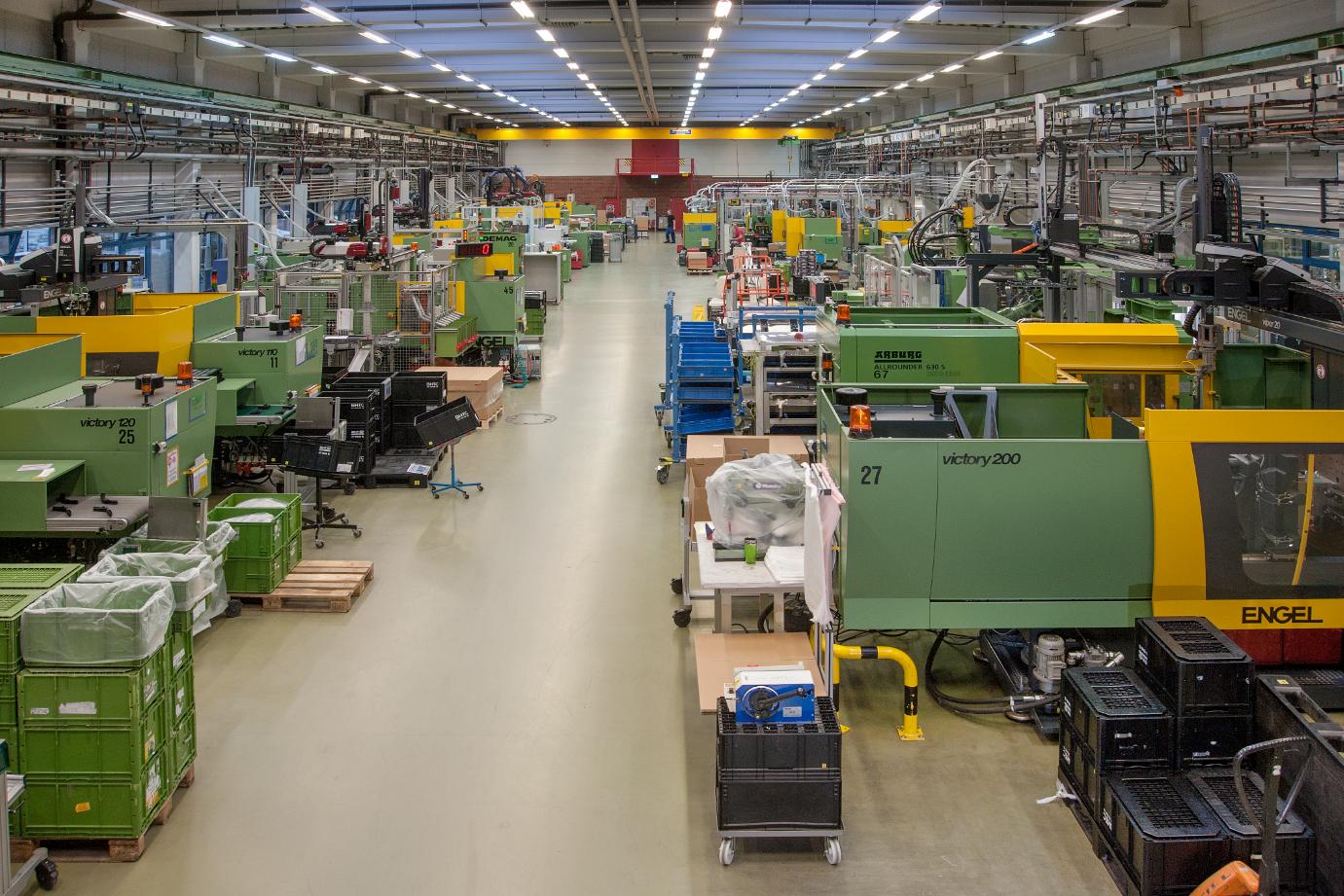 Produktionshalle Novapax GmbH