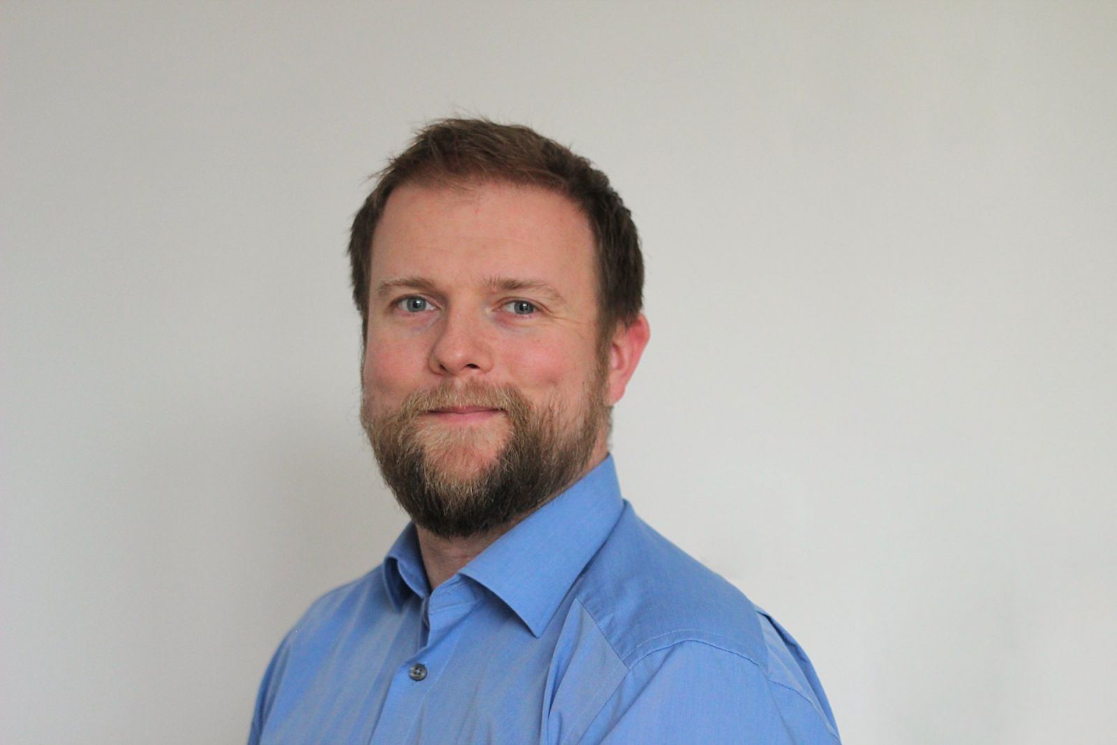 Porträt von Dr. Jan Krüger, Forschungskoordinator Fachbereich 2.
